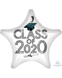 """18"""" Class of 2020 - White"""