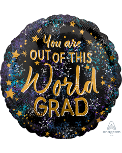 "18"" Out of This World Grad  Pkg"