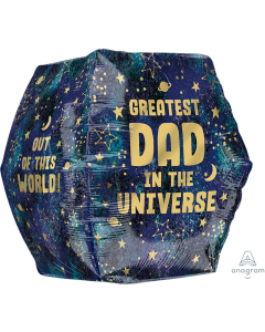 "16"" Best Dad In Universe Anglez"