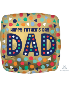 """18"""" Father's Day Gold Pkg"""