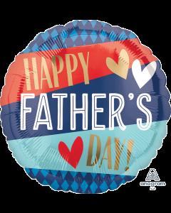 """18"""" Father's Day Stripes & Argyle Pkg"""