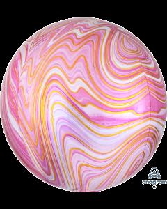 """16"""" Pink Marblez Orbz"""