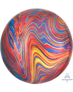 "16"" Colorful Marblez Orbz"