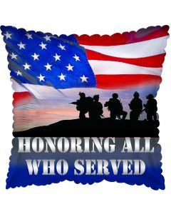 "18"" Honoring All Who Served"