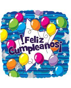 "18"" Feliz Cumpleanos Balloons"