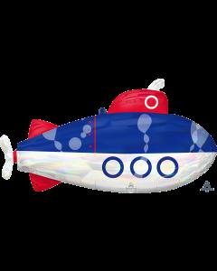 """34""""Iridescent Submarine"""