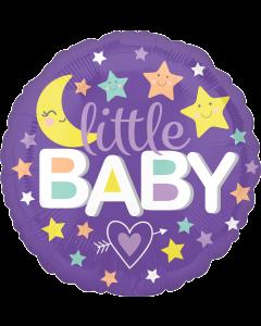 """18"""" Little Baby Moon & Stars"""