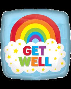 "18"" Get Well Rainbow Cloud"
