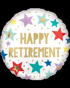 """18"""" Retirement Stars White"""