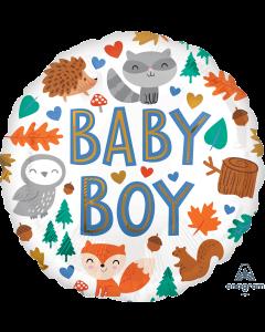 """18"""" Baby Boy Woodland Fun Pkg"""