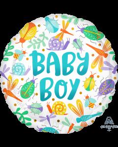 """18"""" Baby Boy Watercolor Pkg"""