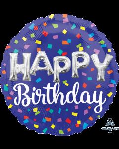 "18"" Balloon Letters Birthday Pkg"