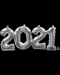 "22"" '2021"" in Silver"