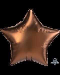 "18""Satin Luxe Cocoa Star"