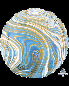 "18""Blue Marblez Circle"