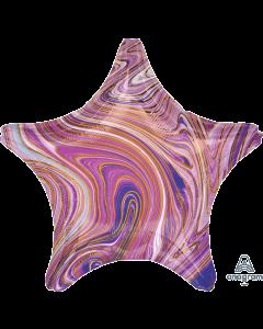 "19""Purple Marblez Star"