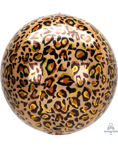 """16"""" Leopard Print Animalz Orbz"""