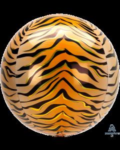 "16"" Tiger Print Animalz Orbz"