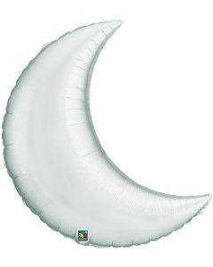 "9"" Silver Crescent Moon"
