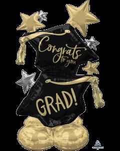 """51"""" Airloonz Congrats Grad"""