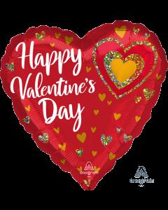 "28"" Glittering Hearts Valentine"
