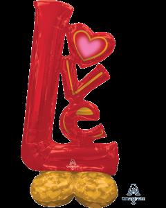 "58"" Airloonz Big LOVE"