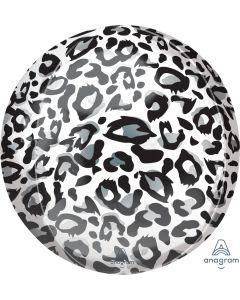 """16"""" Snow Leopard Animalz Orbz"""