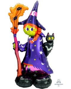 "59"" Airloonz Scary Witch"
