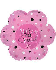 "9"" You're So Special Dots Inflated with Cup & Stick"