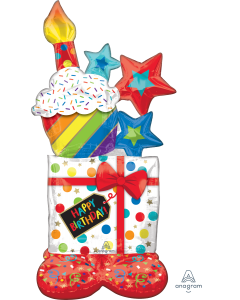 "55"" Airloonz Birthday Icons"