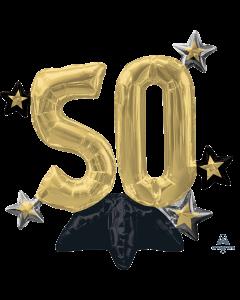 """21"""" Celebrate 50 Centerpiece"""