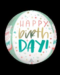 "16"" Happy Cake Day  Orbz"
