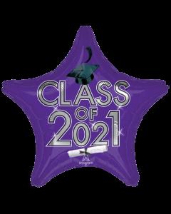 "18"" Class of 2021 - Purple"