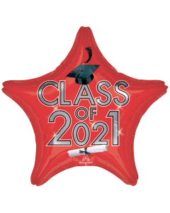 "18"" Class of 2021 - Red"