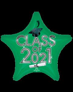"""18"""" Class of 2021 - Green"""