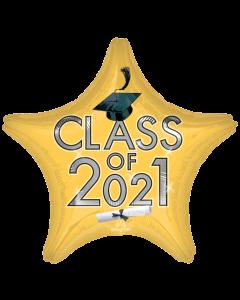 "18"" Class of 2021 - Gold"