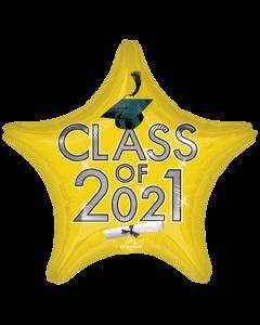 "18"" Class of 2021 - Yellow"