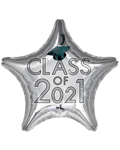 """18"""" Class of 2021 - Silver"""