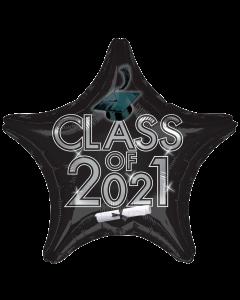 """18"""" Class of 2021 - Black"""
