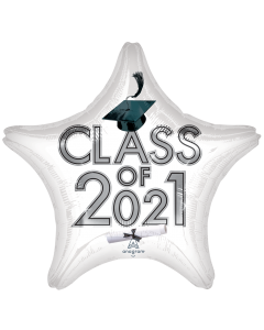 """18"""" Class of 2021 - White"""