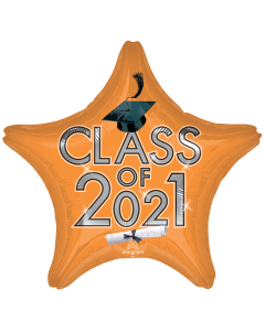 "18"" Class of 2021 - Orange"
