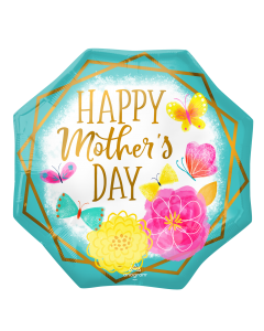 """22"""" Mother's Day Floral Octagon"""