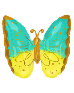 "25"" Mint & Yellow Butterfly"