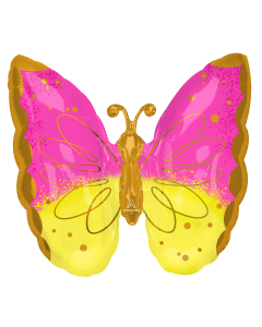 """25""""Pink & Yellow Butterfly"""