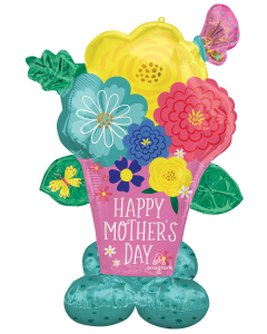 """53"""" Airloonz Mother's Day Flower Pot"""