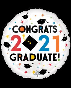 """18"""" Congratulations 2021!  Pkg"""