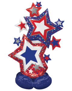 "59"" Airloonz Patriotic Star Cluster"