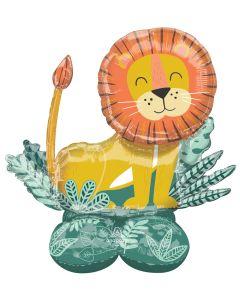 """45"""" Airloonz Get Wild Lion"""