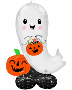 """53"""" Airloonz Halloween Ghost"""