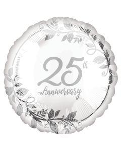 "18""Happy 25th Anniversary Pkg"